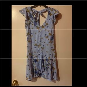 Eyeshadow high-low dress NWT
